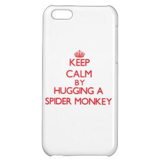 Guarde la calma abrazando un mono de araña