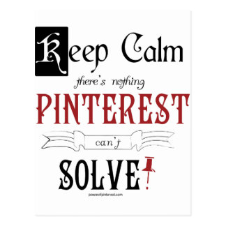 Guarde la calma allí que no es que nada Pinterest Tarjeta Postal