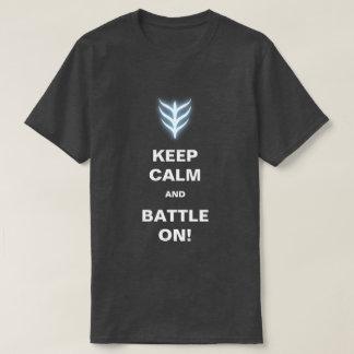 Guarde la calma camisas