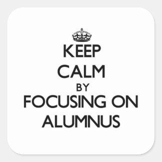 Guarde la calma centrándose en alumno