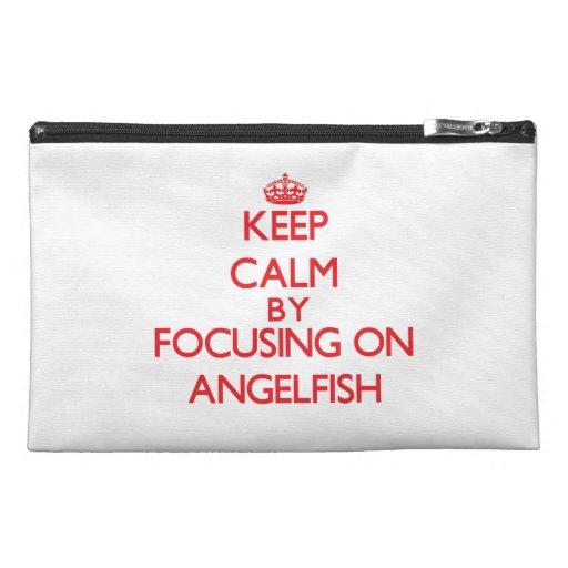 Guarde la calma centrándose en Angelfish