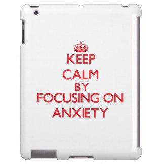 Guarde la calma centrándose en ansiedad