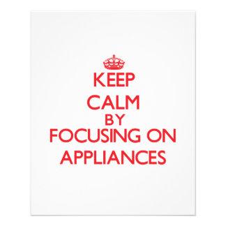 Guarde la calma centrándose en aplicaciones tarjetón