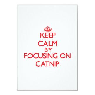 Guarde la calma centrándose en Catnip Anuncio