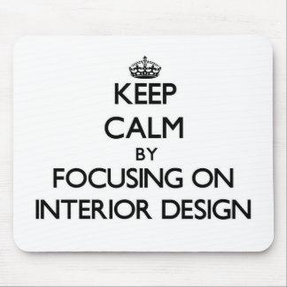 Guarde la calma centrándose en diseño interior