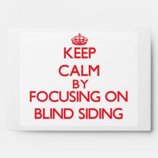 Guarde la calma centrándose en el apartadero ciego