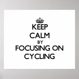 Guarde la calma centrándose en el ciclo