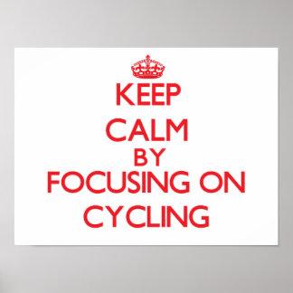 Guarde la calma centrándose en el ciclo impresiones