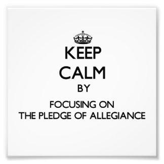 Guarde la calma centrándose en el compromiso de la