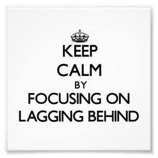 Guarde la calma centrándose en el revestimiento de fotos