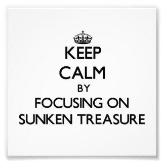 Guarde la calma centrándose en el tesoro hundido