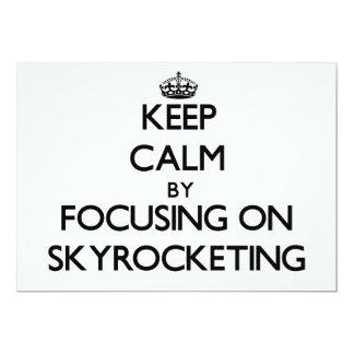 Guarde la calma centrándose en elevarse comunicado