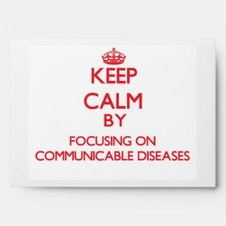 Guarde la calma centrándose en enfermedades