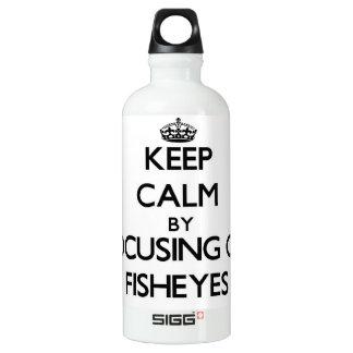 Guarde la calma centrándose en Fisheyes