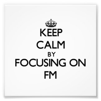 Guarde la calma centrándose en Fm Fotografias