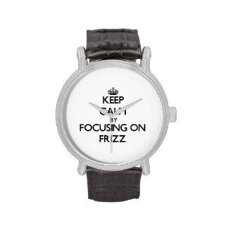 Guarde la calma centrándose en Frizz