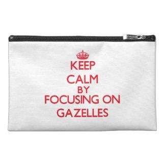 Guarde la calma centrándose en Gazelles