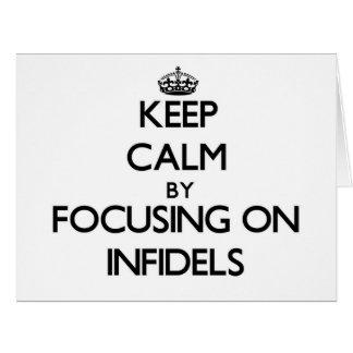 Guarde la calma centrándose en infieles