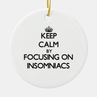 Guarde la calma centrándose en Insomniacs