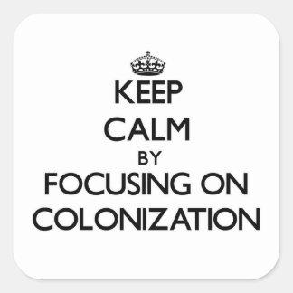 Guarde la calma centrándose en la colonización