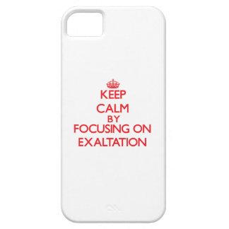 Guarde la calma centrándose en la EXALTACIÓN iPhone 5 Case-Mate Fundas