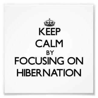 Guarde la calma centrándose en la hibernación
