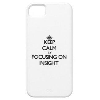 Guarde la calma centrándose en la penetración iPhone 5 Case-Mate funda