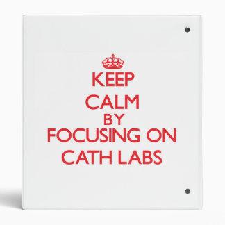 Guarde la calma centrándose en laboratorios de la