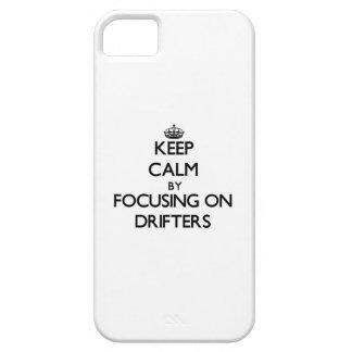 Guarde la calma centrándose en las traineras iPhone 5 funda