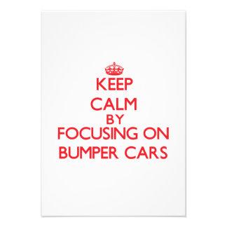 Guarde la calma centrándose en los coches de comunicados personales