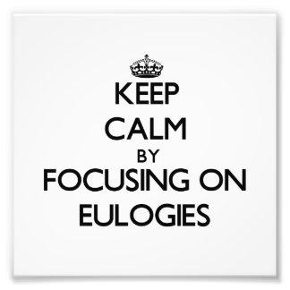 Guarde la calma centrándose en los ELOGIOS Fotografia