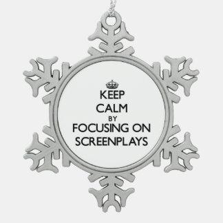 Guarde la calma centrándose en los guiones