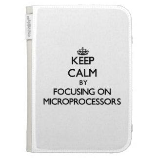 Guarde la calma centrándose en los microprocesador