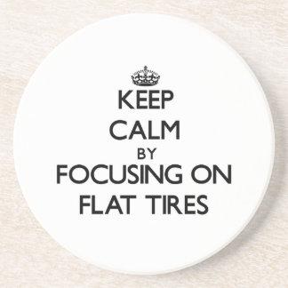 Guarde la calma centrándose en los neumáticos desi