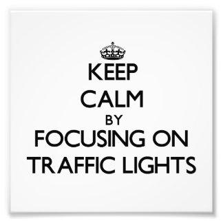 Guarde la calma centrándose en los semáforos