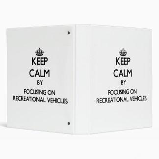 Guarde la calma centrándose en los vehículos recre