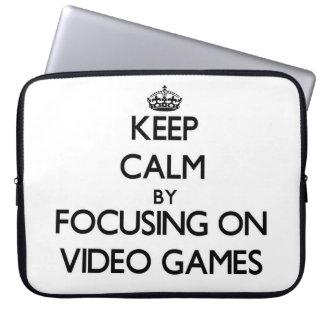 Guarde la calma centrándose en los videojuegos