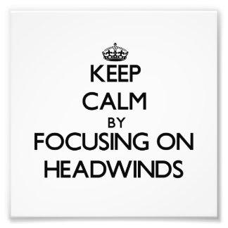 Guarde la calma centrándose en los vientos de proa