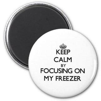 Guarde la calma centrándose en mi congelador