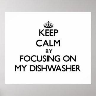 Guarde la calma centrándose en mi lavaplatos