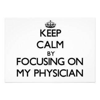 Guarde la calma centrándose en mi médico