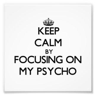 Guarde la calma centrándose en mi psico