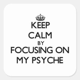 Guarde la calma centrándose en mi psique