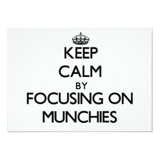 Guarde la calma centrándose en Munchies
