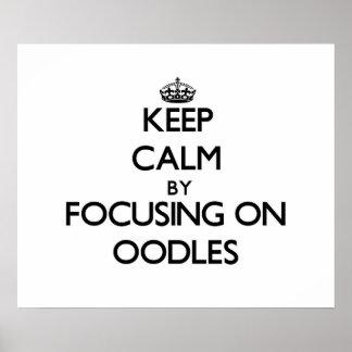 Guarde la calma centrándose en Oodles