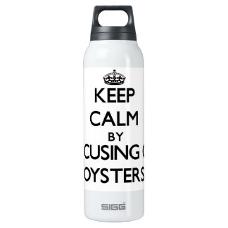 Guarde la calma centrándose en ostras