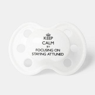 Guarde la calma centrándose en permanecer adaptado