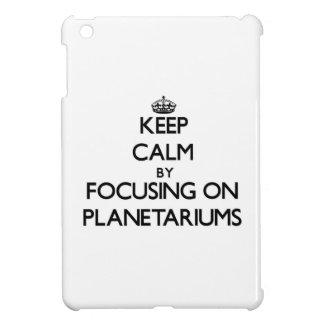Guarde la calma centrándose en planetarios