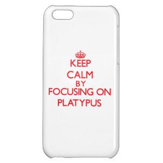 Guarde la calma centrándose en Platypus