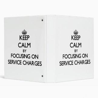 Guarde la calma centrándose en precios de servicio